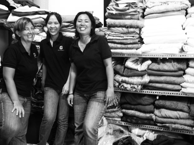 The design and management team in Saigon