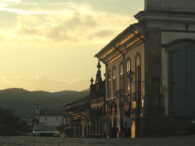 End of day in Ouro Preto. Our story is not far but we don't know it yet...
