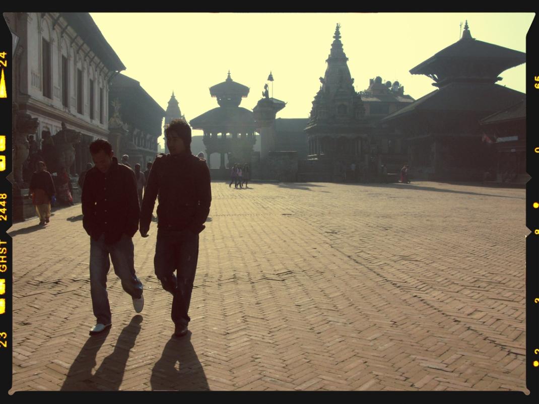 Morning light in Bhaktapur
