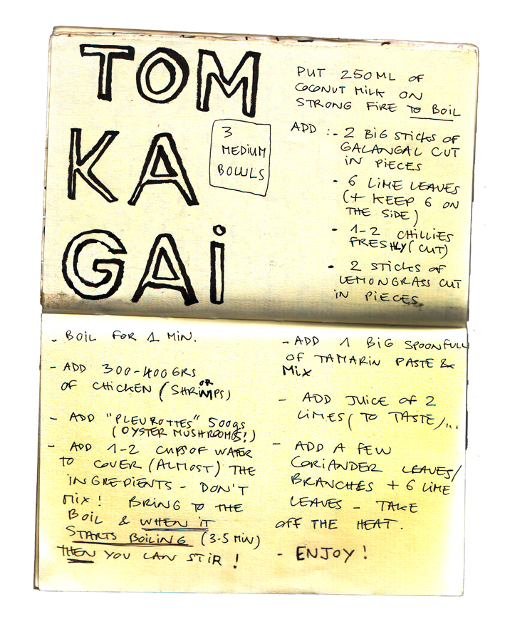 TOM KA GAI recipe